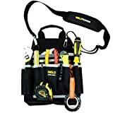 MELOTOUGH Professional Electric Tool Pouch Shoulder Tool Carrier with Multiple Pockets, Tool Organizer for Technician/ Maintenance and Electrician's Tools