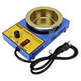 100mm Lead Free Solder Pot with 2300g Capactity for Welding and Soldering Bath, 110V 300W