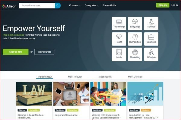 Top 10 education websites to you can learn free 12