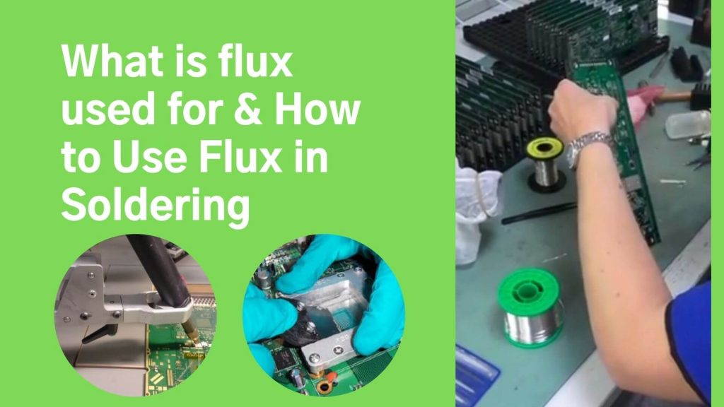 What is flux used for