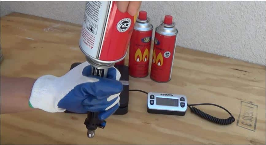 How to refill a butane soldering iron