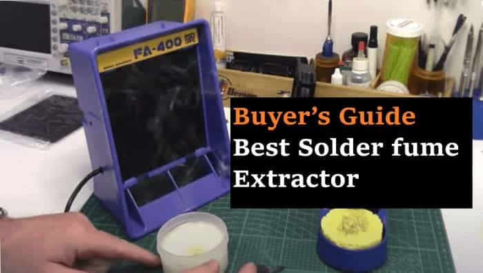 Best solder fume extractor
